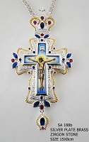 Silver Pectoral Cross - 188