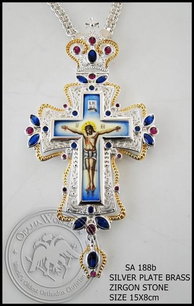 Silver Pectoral Cross - 188