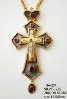 Silver Pectoral Cross - 234