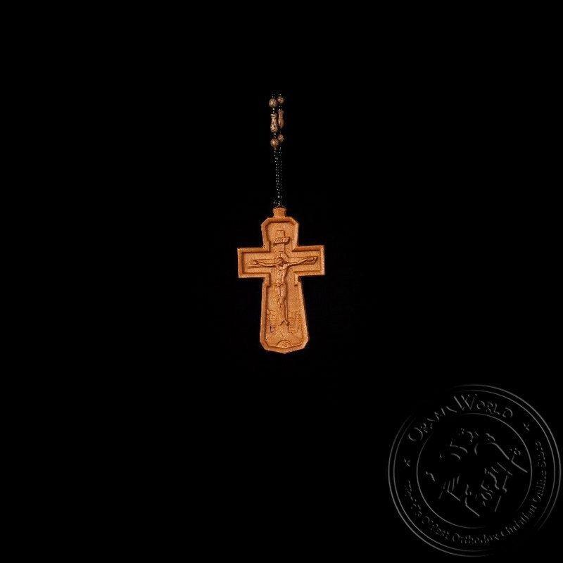 Wooden Pectoral Cross - 1001-80