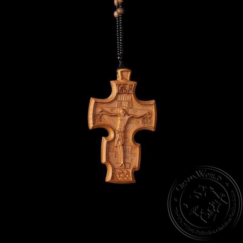 Wooden Pectoral Cross - 1001-82