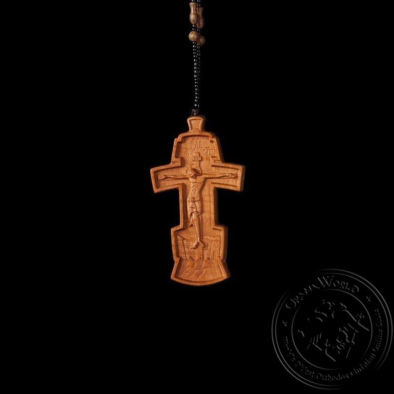 Wooden Pectoral Cross - 1001-83