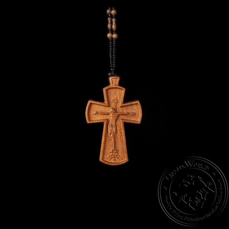 Wooden Pectoral Cross - 1001-84