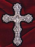 Silver 925 Cross Round Edges