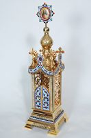 Altar Tabernacle With Enamel Russian
