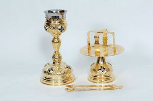 Chalice Set with Little Enamel