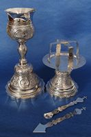 Silver Chalice Set