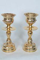 Candles for Holy Table Byzantine Two Color