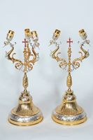 Two-Three Candlestand Two Color Pair