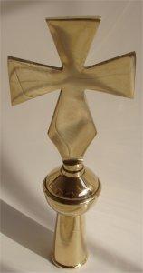 Brass Cross For Flags