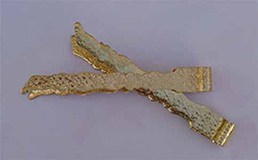 Handmade Brass Tong for Incense Coal