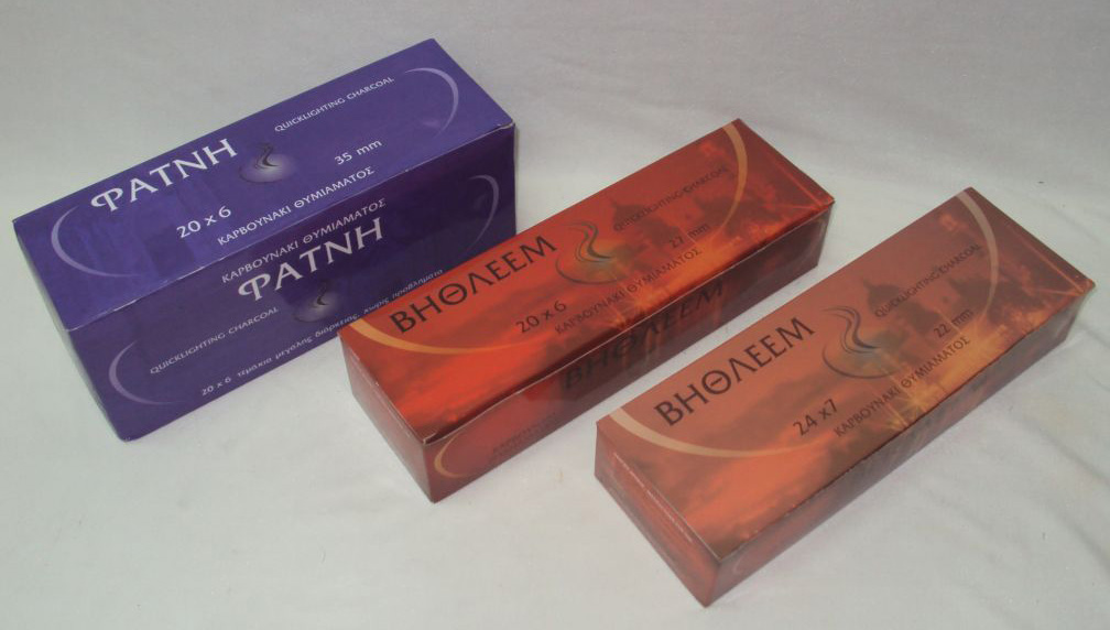 BETHLEHEM Incense Coal - Premium Quality (Packet with Rolls)