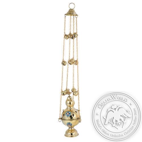 Byzantine Brass Ecclesiastical Censer
