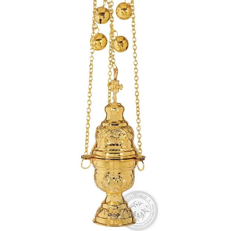 Ecclesiastical Censer Athenian Design - 0101