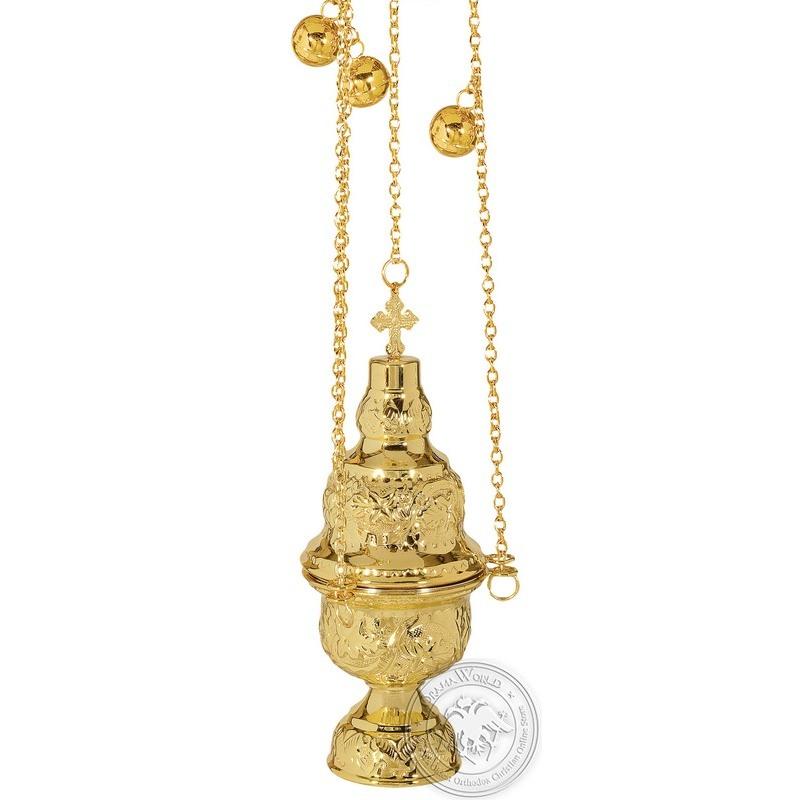 Ecclesiastical Censer Athenian Design - 0109