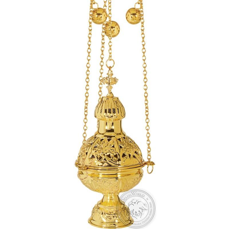 Ecclesiastical Censer Russian Design - 0124