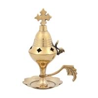 Byzantine Brass Home Censer - H07