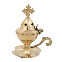 Byzantine Brass Home Censer - H03