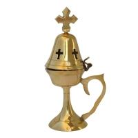 Byzantine Brass Home Censer - H87