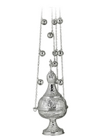 Censer Dome Silver Plated