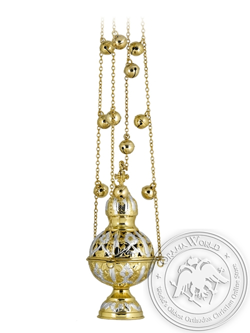 Censer Russian Design Perforated