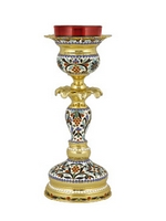Vigil Lamp Byzantine B Enamel