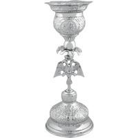 Ecclesiastical Vigil Oil Candle Two-Headed Eagle - 0616