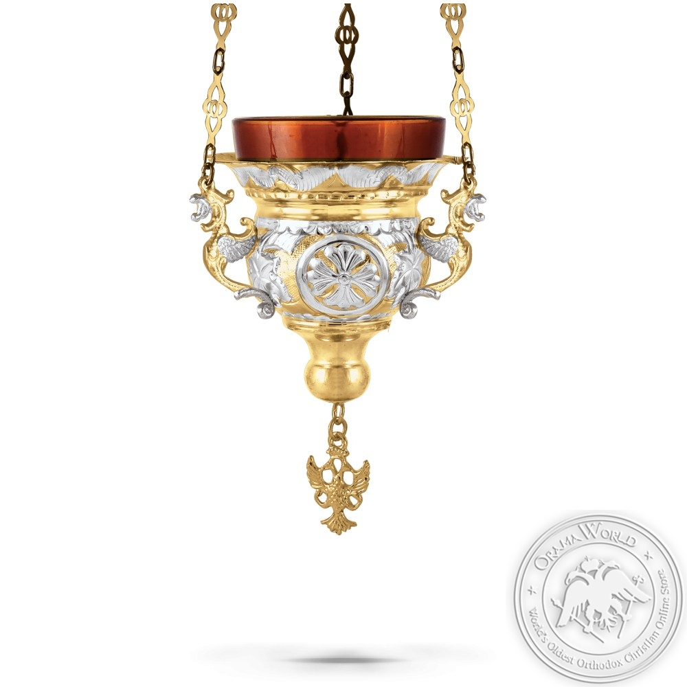 Hanging Oil Candle No1 Byzantine