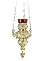 Vigil Lamp Corfu Design Cross No3