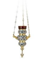 Vigil Lamp Corfu Design No1 Enamel