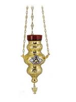 Vigil Lamp Corfu Design No2 Heart Enamel
