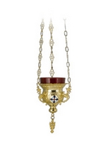 Vigil Candle Byzantine Design No1 Little Enamels