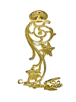 Hook Bronze C Gold Plated