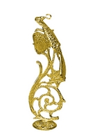 Hook Bronze Gold Plated