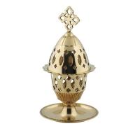 Byzantine Brass Home Oil Lamp - H89