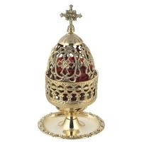 Byzantine Brass Home Oil Lamp - H104