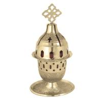 Byzantine Brass Home Oil Lamp - H96