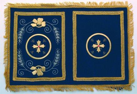 Velvet Cover A Blue