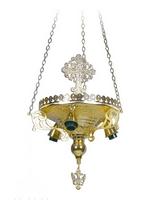 Altar Lantern B Gold Plated