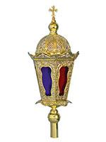 Byzantine Lantern Pressed A Two Colour