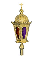 Byzantine Lantern Press A Gold Plated