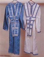 Altar Boy Vestment (Blue - White)