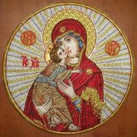 Virgin Mary - Hieratical Pole