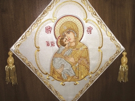 The Mother of God - Hieratical kneepiece
