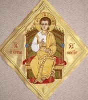 Jesus Emmanuel - Hieratical kneepiece