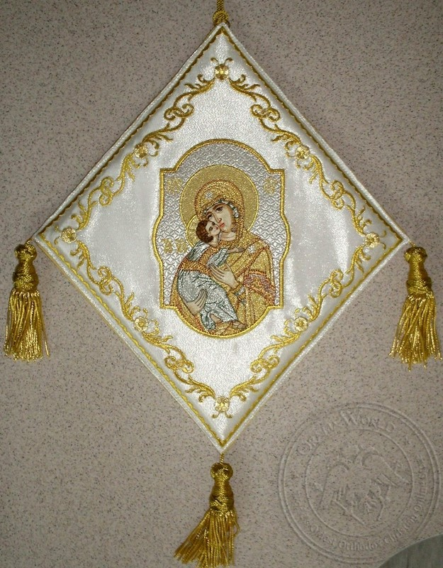 Mother of God - Hieratical kneepiece