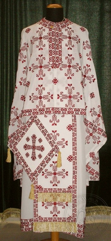 Saint Marina - Hieratical Robe