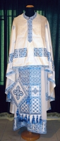 Squares with Chevrons - Hieratical Robe