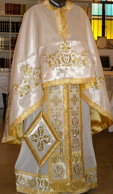 Lyre of David - Hieratical Robe - 4626-2