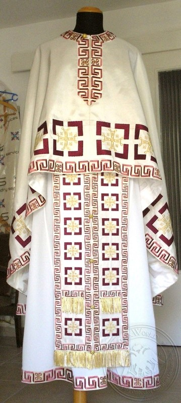 Jesus Christ Conquers - Hieratical Robe